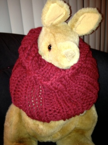 Lara's Cowl in Lion Brand Wool-Ease Chunky
