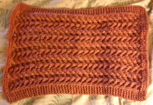 "Gobi Cowl by Marlaina ""Marly"" Bird - 196 yards"