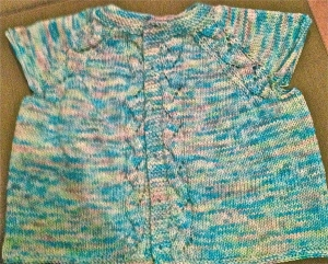 Sunnyside Cardigan by Tanis Lavallee - 400 yards