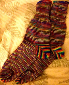 Toe-Up Socks - 294.4 yards